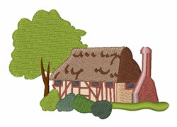 English Cottage embroidery design