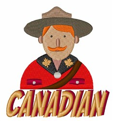 Canadian embroidery design