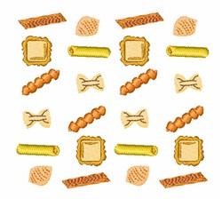 Noodle Shapes embroidery design