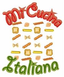 Mi Cucina Italiana embroidery design