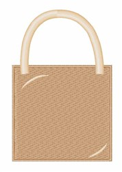 Shopping Bag embroidery design