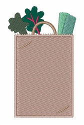 Grocery Bag embroidery design