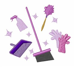 Housekeeping Equipment embroidery design