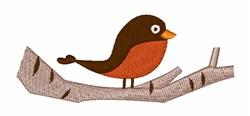 Cartoon Robin embroidery design