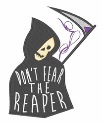 Grim Reaper embroidery design