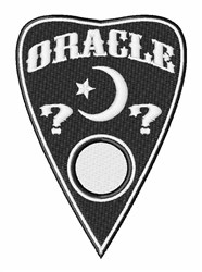 Ouija Planchet embroidery design