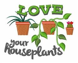 Garden Plant Border embroidery design