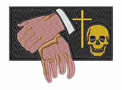 Funeral Director embroidery design