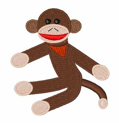 Sock Monkey embroidery design