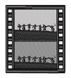 Sweedish Cinema Art embroidery design