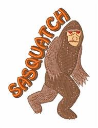 Sasquatch embroidery design
