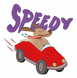 Speedy Dog embroidery design