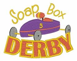Soap Box Derby Car embroidery design