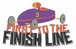 Finish Line embroidery design
