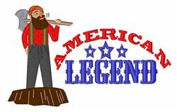 American Legend embroidery design