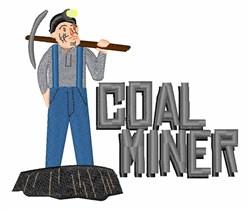 Coal Miner embroidery design