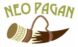 Neo Pagan embroidery design