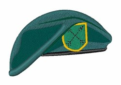 Green Beret embroidery design