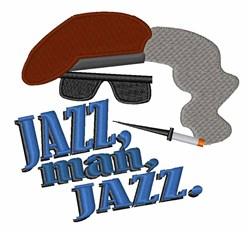 Jazz Man embroidery design