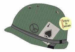 Vietnam Helmet embroidery design