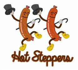 Hot Steppers embroidery design
