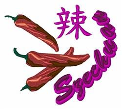 Szechuan Pepper embroidery design
