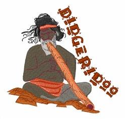Didgeridoo embroidery design