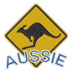 Aussie Kangaroo embroidery design