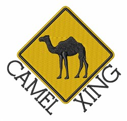 Camel Xing embroidery design