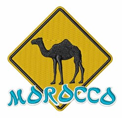 Morocco Sign embroidery design