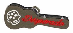 Desperado Guitar embroidery design