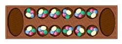 Mancala Game embroidery design