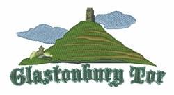 Glastonbury Tor embroidery design