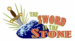 Sword In The Stone embroidery design