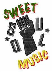 Sweet Soul Music embroidery design