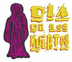 Dia De Los Muertos embroidery design