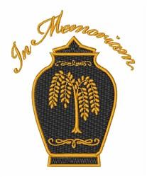 In Memorium embroidery design