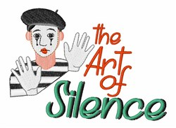 Art Of Silence embroidery design