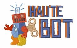 Haute Bot embroidery design