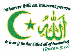 Innocent Person embroidery design