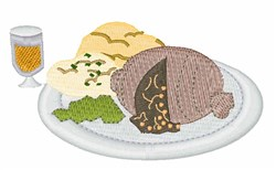 Haggis embroidery design