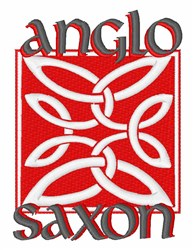 Anglo Saxon embroidery design