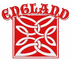 England embroidery design