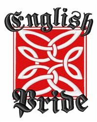English Pride embroidery design