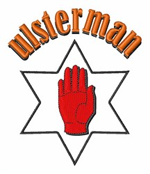 Ulsterman embroidery design