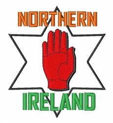 Northern Ireland embroidery design