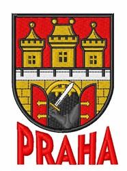 Prague embroidery design