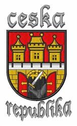 Ceska Republika embroidery design