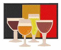 Belgian Beer embroidery design