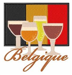 Belgique embroidery design